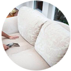 Limpieza de muebles y alfombras